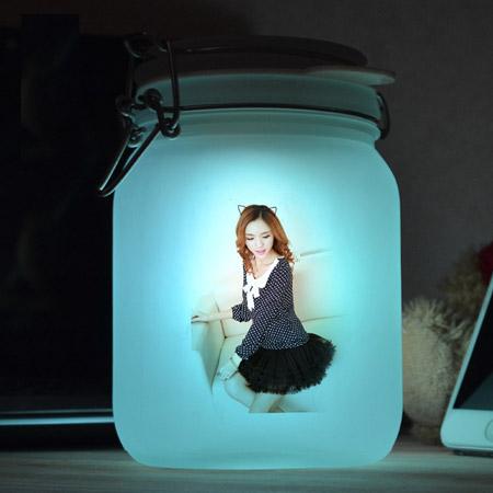 创意阳光罐小夜灯