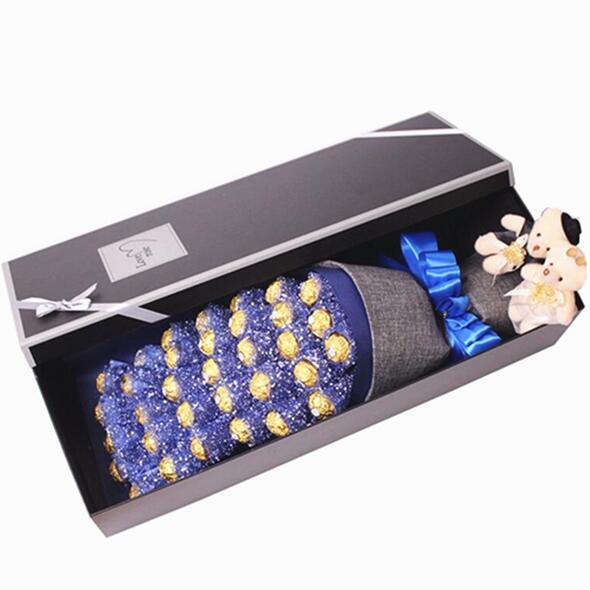 费列罗金莎巧克力花束礼盒