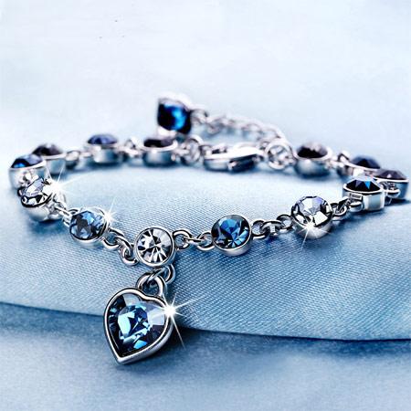 施华洛世奇12星座水晶手链