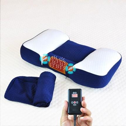 电动按摩热敷护颈枕
