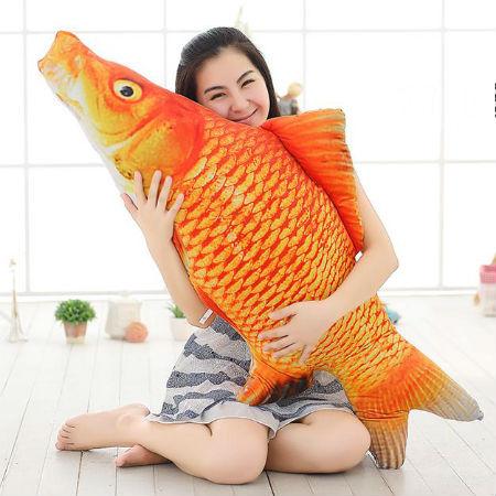仿真鱼类毛绒玩具