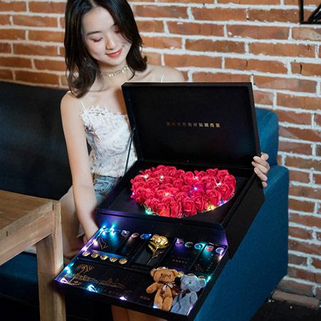 会说情话的糖果礼盒