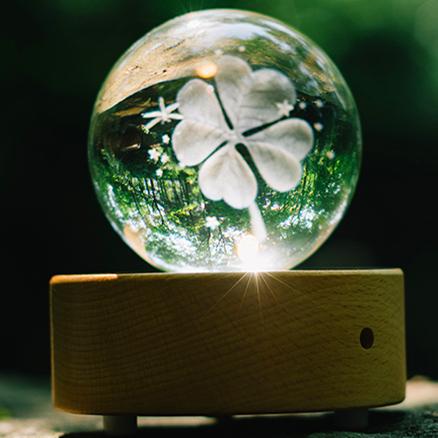 3D梦幻水晶音乐盒