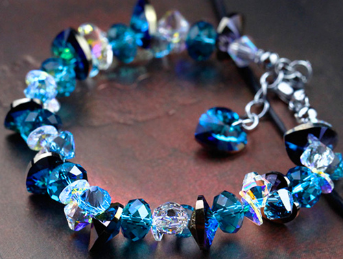 海洋之心水晶转运手链