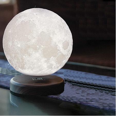 磁悬浮3D月球灯