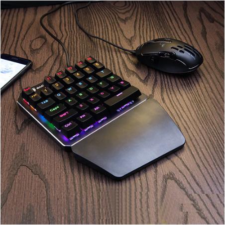 单手游戏键盘鼠标