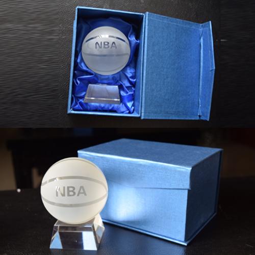 NBA水晶篮球纪念品
