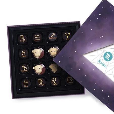 十二星座巧克力礼盒
