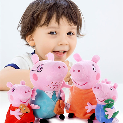 小猪佩奇公仔毛绒玩具