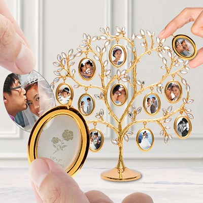 diy定制照片树