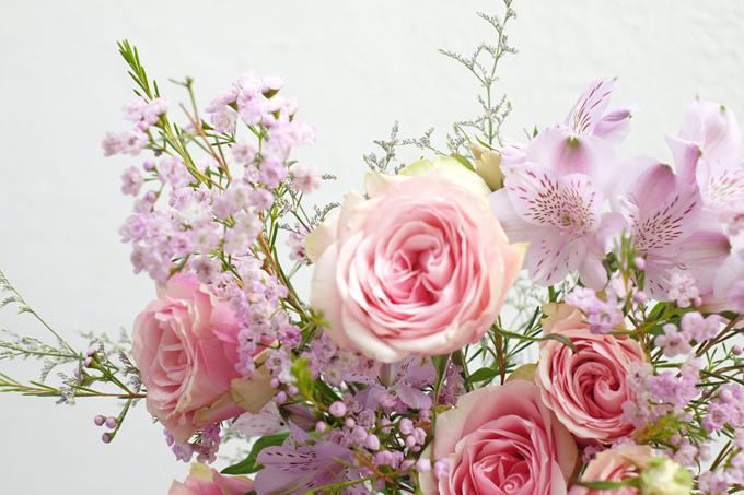 送花的艺术技巧