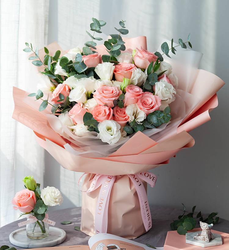姐姐生日,送鲜花给她,让她