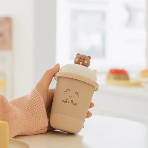 马克图布奶茶暖手宝