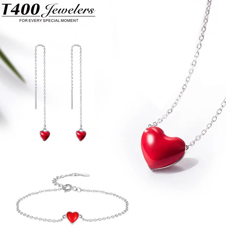 情人节送礼物正确指南|T400银饰,适合情侣&闺蜜