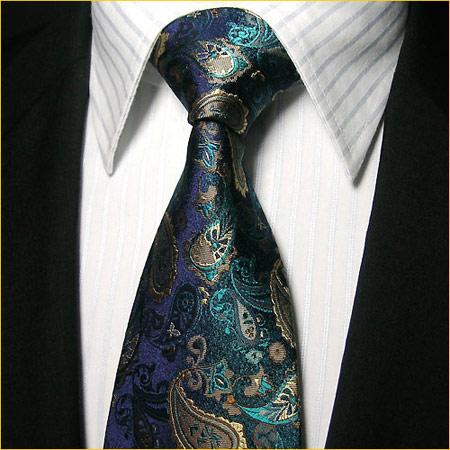 男性商务真丝领带