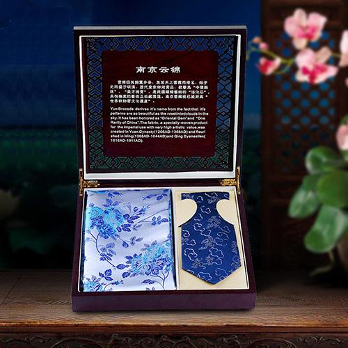 南京云锦围巾领带礼盒
