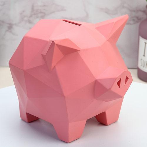小猪存钱罐儿童储蓄罐只进不出零