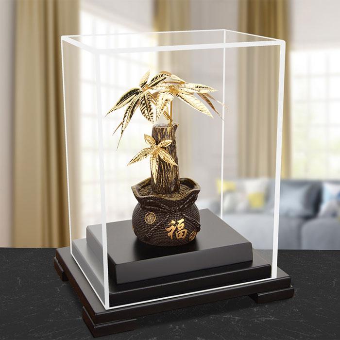 金箔发财树摆件