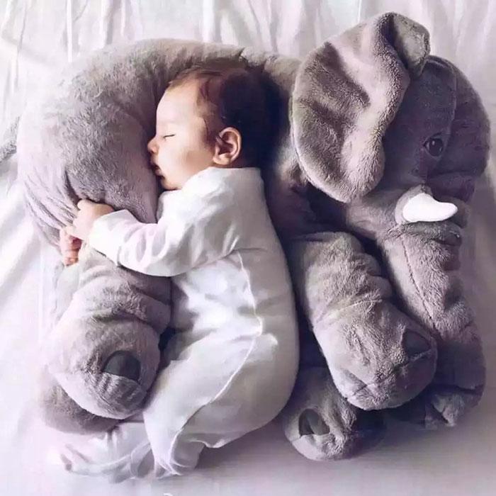 宝宝安抚大象毛绒玩具宝宝陪睡公