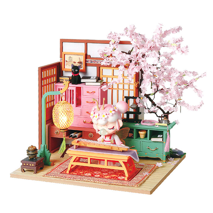 樱花庭限定礼盒古风DIY小屋女生闺蜜儿童圣诞