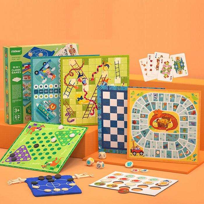 儿童32合1棋类游戏