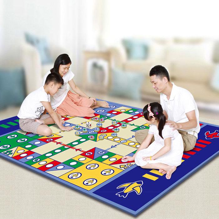 儿童超大飞行棋毯