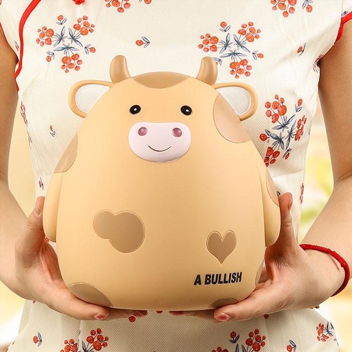 萌牛存钱罐儿童储蓄罐可爱零钱罐