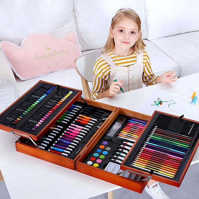 儿童超豪华水彩笔套装画