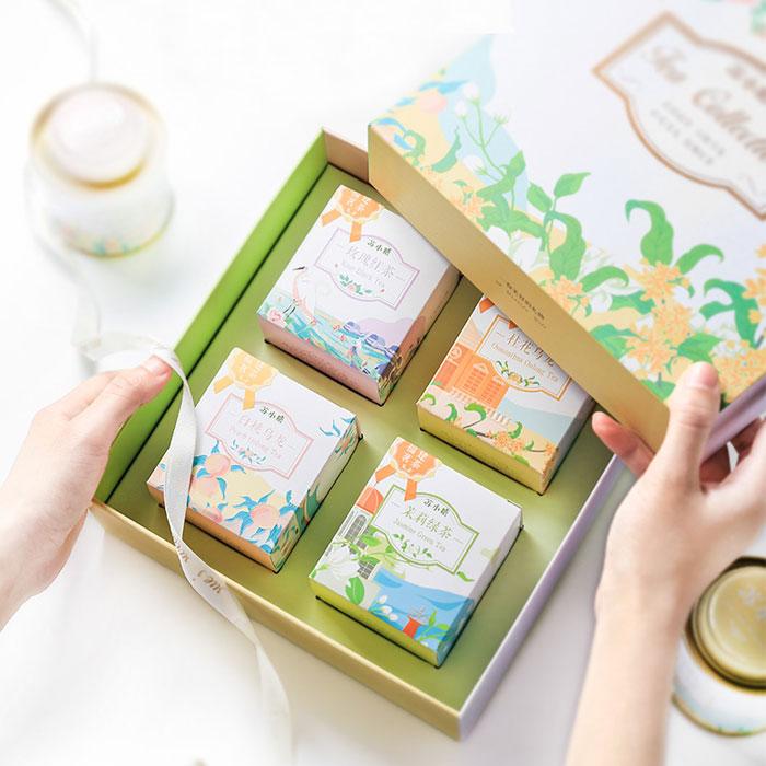 苏小糖4味花果茶礼盒