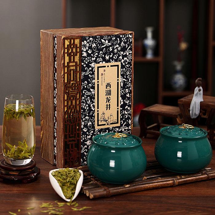 特级龙井绿茶礼盒