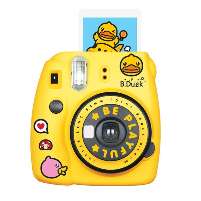 富士小黄鸭拍立得相机