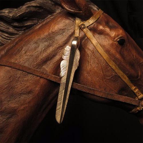 纯银剑羽领带夹