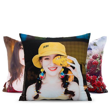 DIY抱枕定制来图定做真人照片抱枕靠垫被子两