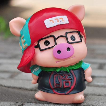 麦兜存钱罐卡通猪储蓄罐实用创意