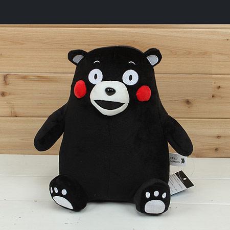 日本正品爱心熊本熊抱枕公仔玩偶毛绒玩具女